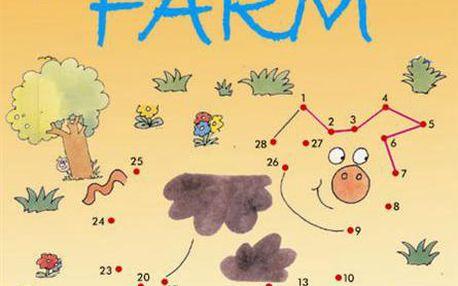 Dot-to-dot on the farm zábavný způsob, jak se naučit číslovky a najít skryté obrázky