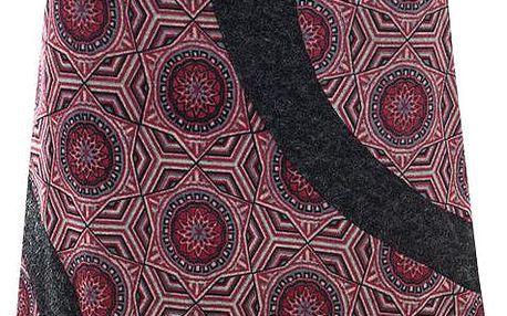 Dámská vzorovaná sukně Purple Jam