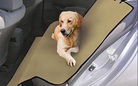 Nepromokavá deka do auta pro vaše domácí mazlíčky