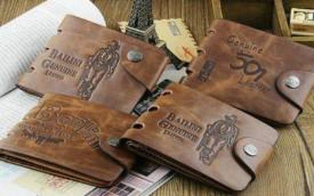 Luxusní pánská peněženka Bailini ve 4 provedeních