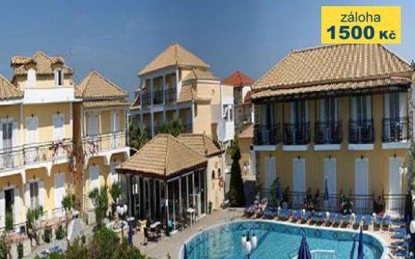 Řecko, oblast Zakynthos, letecky, bez stravy, ubytování v 3* hotelu na 11 dní