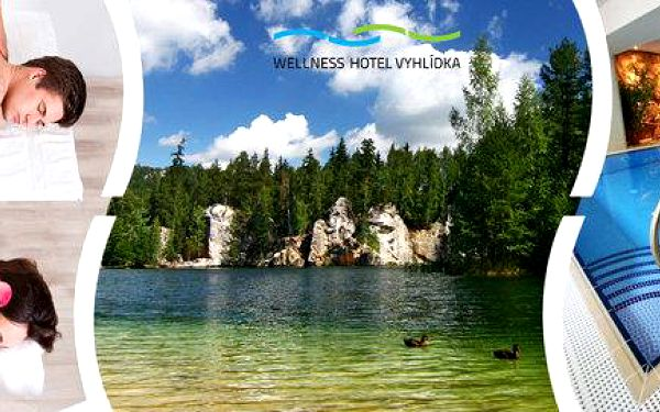 Wellness hýčkání a odpočinek v Adršpachu