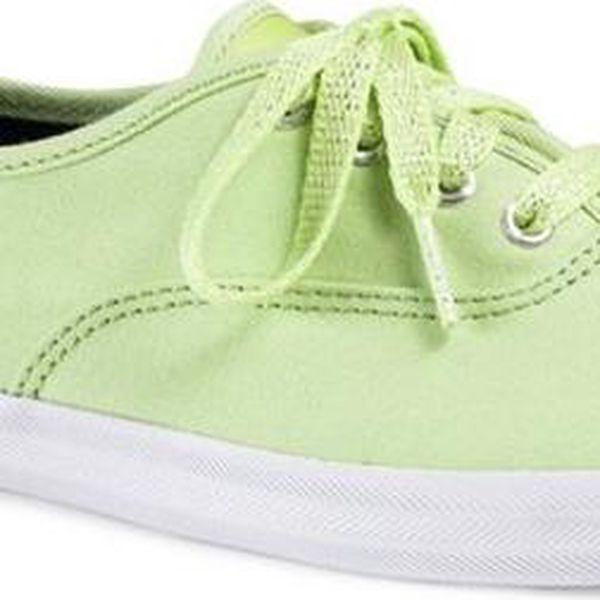 Dámské zelenožluté tenisky Keds