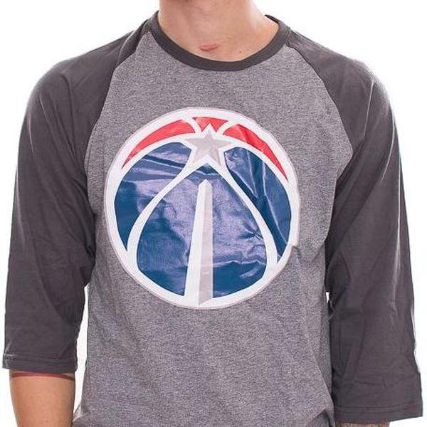 Triko Mitchell & Ness Team Logo Reglan Washington Wizards