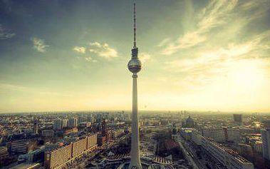 Berlín: 3denní pobyt v hotelu v centru se snídaní a láhví vína