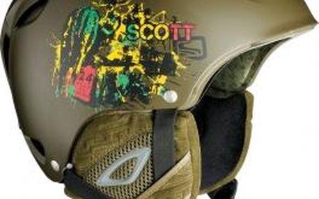 Elegantní lyžařská helma Scott BARRICADE M 56