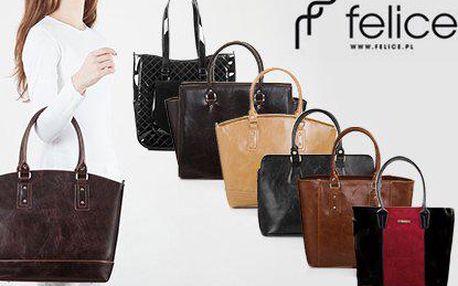 Elegance a ženská smyslnost: Dámské kabelky značky FELICE