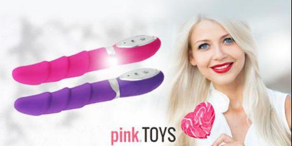 Designový vibrátor CANDY pro nezapomenutelné intimní chvíle! 10 vibračních stupňů pro Vaše uspokojení!