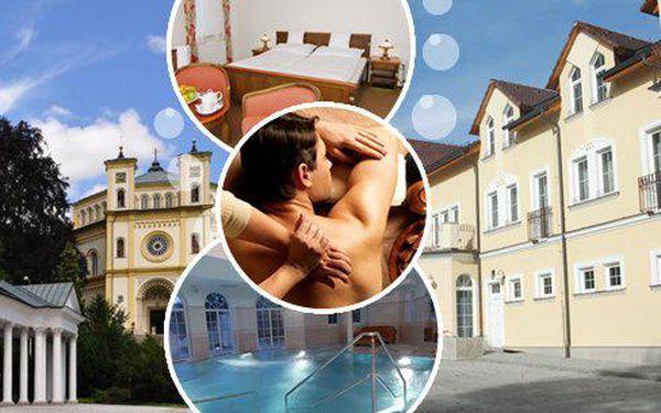 Mariánské Lázně pro 2 osoby na 3 dny v luxusním 4* Hotelu Goethe Spa & wellness s polopenzí a wellness procedurami! Čekají Vás masáže, zábaly a bazén! Užijte si světoznámé lázeňské město plné minerálních pramenů a romantických výhledů!