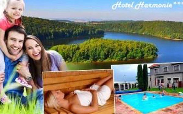 Užijte si osvěžující jarní a letní dovolenou v Železných horách! BAZÉN, SAUNA. 3denní pobyt pro dva.
