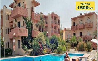 Řecko, oblast Kréta, letecky, polopenze, ubytování v 3* hotelu na 8 dní