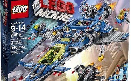 Stavebnice Lego Movie 70816 Bennyho vesmírná loď