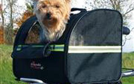 Trixie Přepravní nylonový box na nosič kola 36x29x29cm (max 8kg)