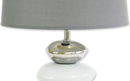 StarDeco Stolní lampa Grey Stone, LA083SG