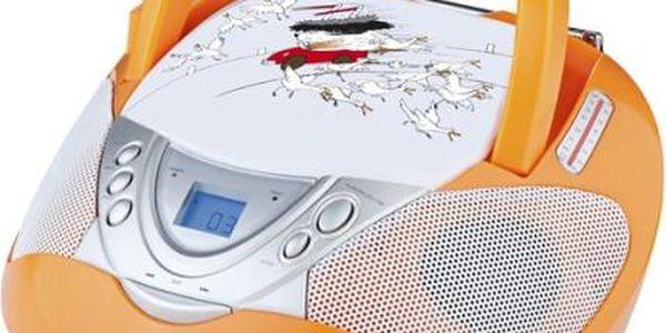 Radiopřijímač s CD GoGEN Maxipes Fík MAXI RADIO
