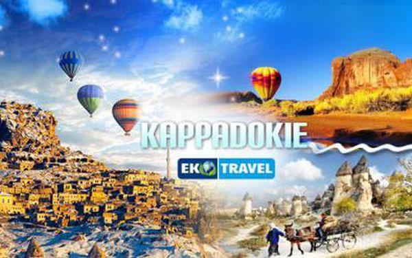 8denní poznávací zájezd tureckou KAPPADOKIÍ pro 1 osobu s LUXUSNÍM 4* a 5* ubytováním a snídaněmi!