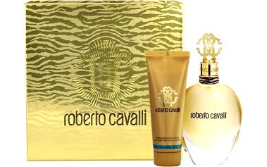 Roberto Cavalli Eau de Parfum EDP dárková sada W - Edp 50ml + 75ml tělové mléko