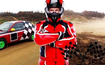 Autorallycross na závodním okruhu - adrenalin jak má být