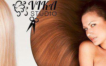 Kadeřnický balíček na střih vlasů ve studiu VIKA