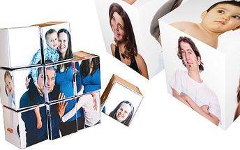 Populární skládačka složená z 9 kostek s vašimi vlastními fotografiemi