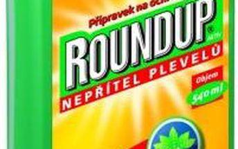 Herbicid Roundup Aktiv 540 ml tekutý koncentrát a vystačí až na 540 m2