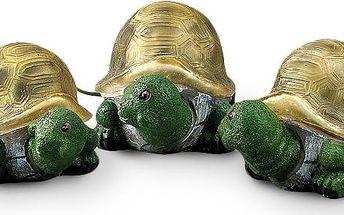 4Home Solární želvy, 3 kusy