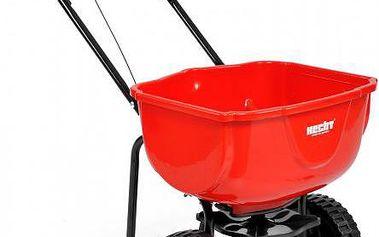 Posypový vozík Hecht 270 pro aplikaci hnojiv, osiv a v zimním období i soli