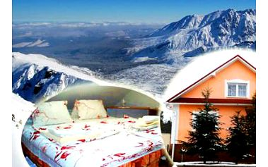 Vysoké Tatry: 4denní pobyt s wellness a polopenzí pro DVA