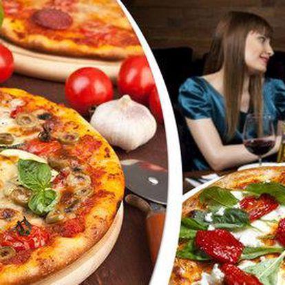 2× jakákoli pizza za skvělou cenu v pizzerii Honzík