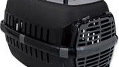Plastová přepravka s větracími otvory MAGIC CAT Carrier černá