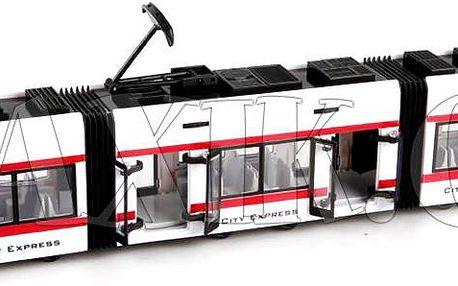 Kloubová tramvaj 44 cm potěší každého malého kluka