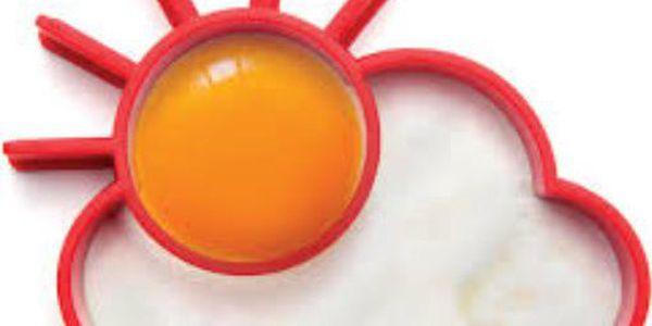 Silikonová formička na volská oka sluníčko za mrakem!