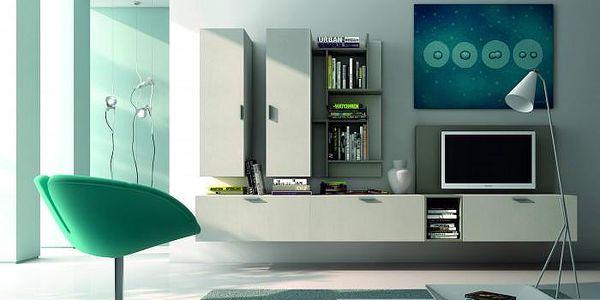 Luxusní obývací stěna Fizzy 11