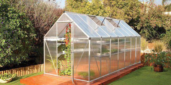 Nejdelší skleník řady Mythos 6×16 o délce 490 cm