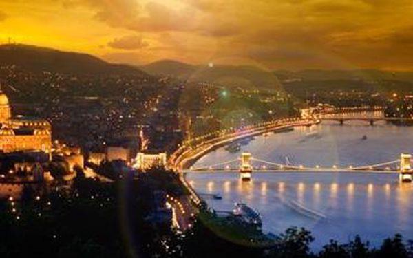 Budapešť s neomezeným přístupem do wellness pro 2 osoby na 3 a více dní!