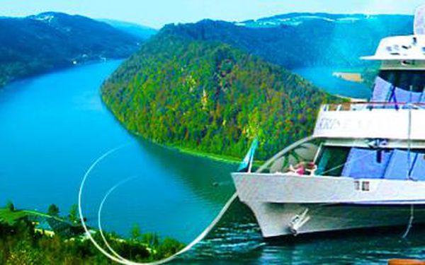 Hit jara 2015: z Německa do Rakouska lodí po Dunaji! Výběr z 5 termínů.