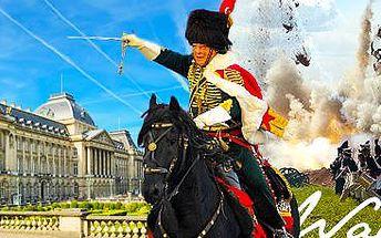 Oslavy 200.výročí bitvy u Waterloo, Brusel a Antverpy: 4denní zájezd pro 1 osobu.