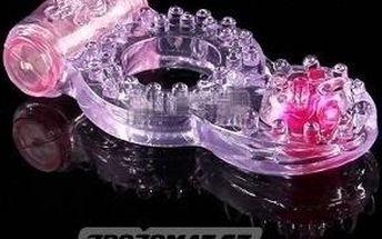Dvojitý vibrační kroužek Love Time pro úžasnou dvojí rozkoš!