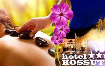 4 dny lázeňských procedur pro 2 osoby v hotelu Kossuth v Mariánských Lázních!
