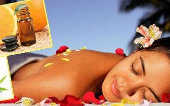 Energetická citrusová aroma masáž 90 minut