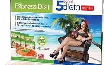 Expresná 5-dňová proteínová diéta bez jojo efektu a pridania pohybu!