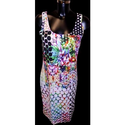Šaty Hipi Agripinan - Favab Barva: Barevný potisk, Velikost: L
