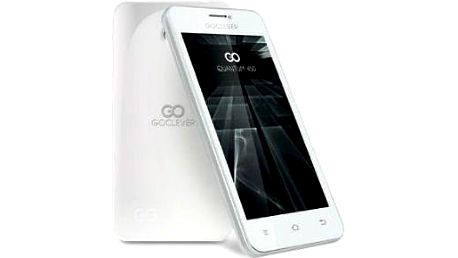 Hvězda mezi smartphony: GOCLEVER Quantum 450 Dual SIM White