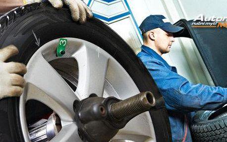 Přezujte na jarní pneumatiky v Automyčce Mercury