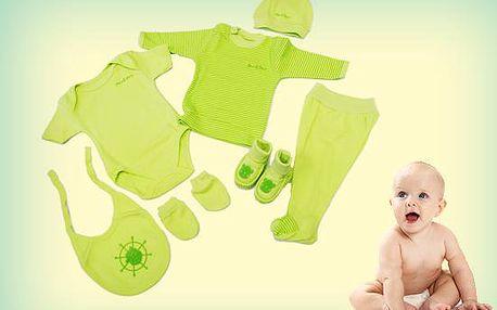 Veselá souprava oblečení pro miminka