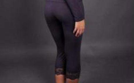 Spodní díl pyžama 9715 - Linga Dore barva: fialová, velikost: 38