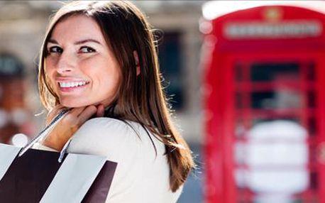 Za nákupy do Londýna! Navštivte Oxford street plnou atraktivních obchodů a londýnských kaváren a spojte nakupování se zábavou! Termín 27.-29.3.