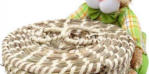 Proutěný košík s velikonočním zajícem!