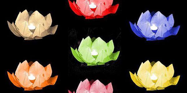 2x Vodní lampion - rozzáří vodní hladinu romantickou atmosférou!