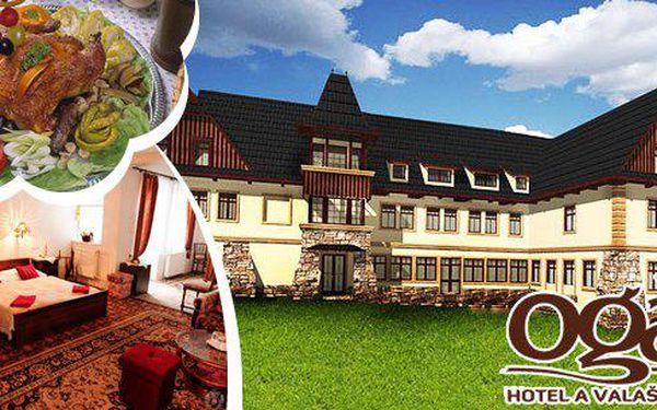 Hotel a Valašský šenk Ogar*** Luhačovice – Pozlovice pro 1 osobu na 3 dny. Rodinný stylový hotel s bohatou kulturní tradicí, originální prostředí, ochutnávka valašské kuchyně. Ideální relaxačně-poznávací pobyts polopenzí za bezkonkurenční cenu!
